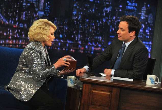 Watch Late Night Hosts Pay Tribute to Joan Rivers