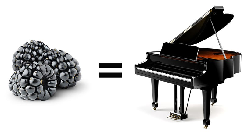Blackberrries Smell Like Pianos Sound