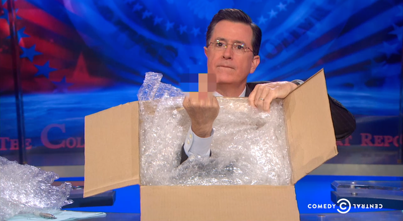 """Mad Prime"" Stephen Colbert Enlists In the Boycott of Amazon"