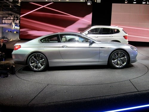 BMW 6-Series Coupe Concept, Live