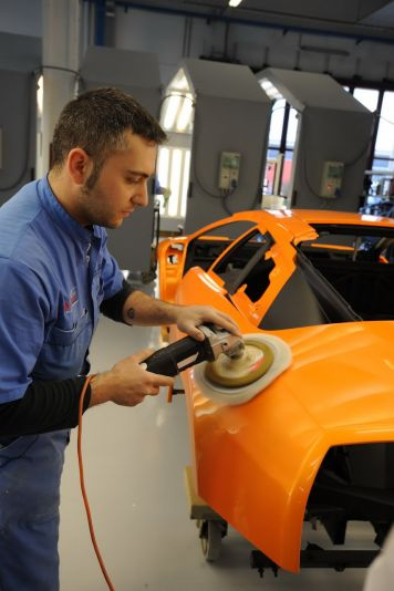Lamborghini Factory Tour: Photos