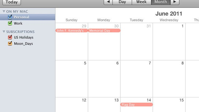 Best Desktop Calendaring App?