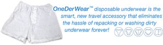 Single Use Underwear for the Laziest of the Lazy