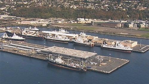 Seattle Cruise Ship Floating Atop Sunken Explosive Arsenal