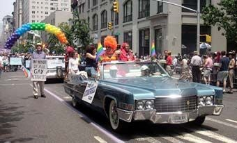 Stonewall Veteran 1969 Cadillac DeVille Convertible Still Flies Rainbow Flag After 40 Years
