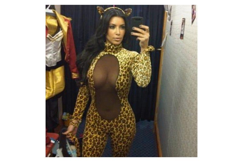 Kim Kardashian is a Sexy Peanut