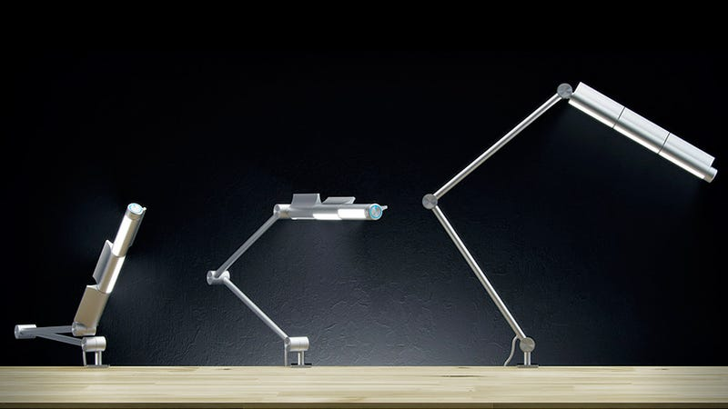 Three-Way Adjustable Lamp Puts Light Everywhere You Need It