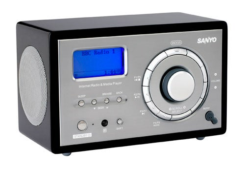 Sanyo R227 Internet Radio, Perfect Use for the Neighbor's Wi-Fi