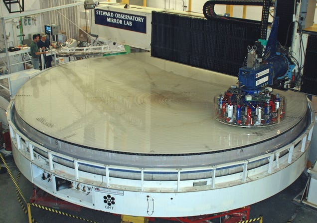 How the Enormous Mirrors on the World's Largest Telescope Are Made