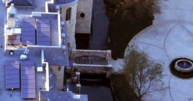 Tom Brady's New House Literally Has A Moat
