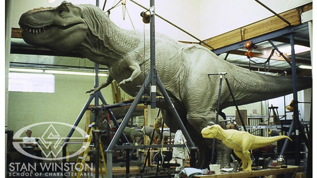 How Jurassic Park's FX Wizards Sculpted a Life-Size T-Rex Out of Clay