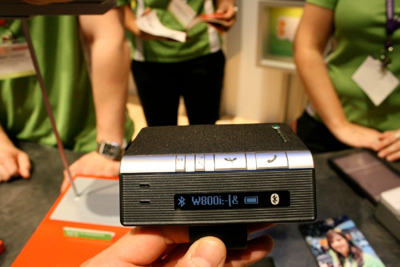 Sony Ericsson's Cool Desk/Car Bluetooth Speakerphone: HCB-120