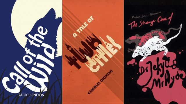 Here's How Designers Reimagined the Cover Art For 50 Classic Novels