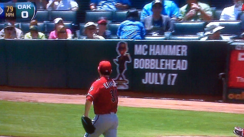 On Second Thought, Oakland's MC Hammer Bobblehead Night Is Probably Cooler