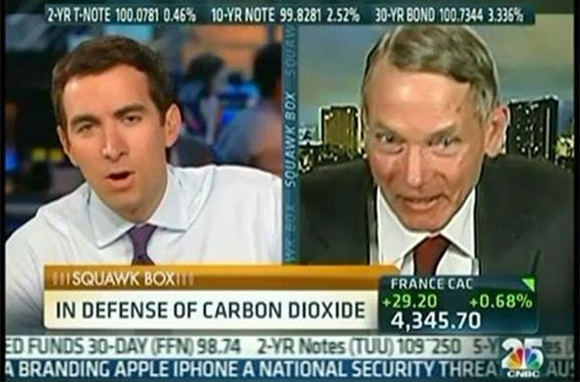 Climate-Denying Physicist Compares Carbon Dioxide to Jews