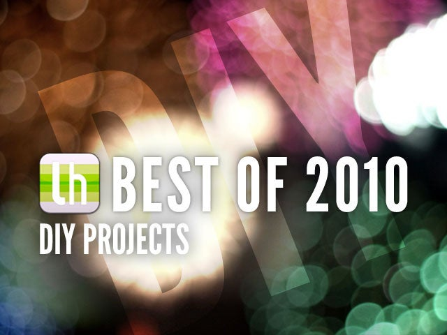 Most Popular DIY Projects of 2010