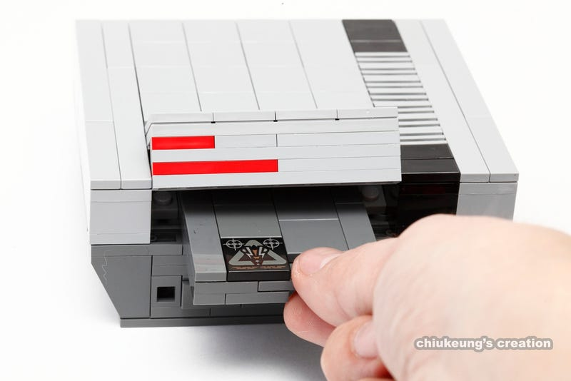 Tiny Nintendo Consoles Made Out Of LEGO