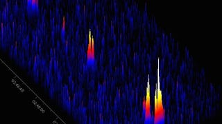 Radio Signature of the First Camelopardalids Meteor Shower