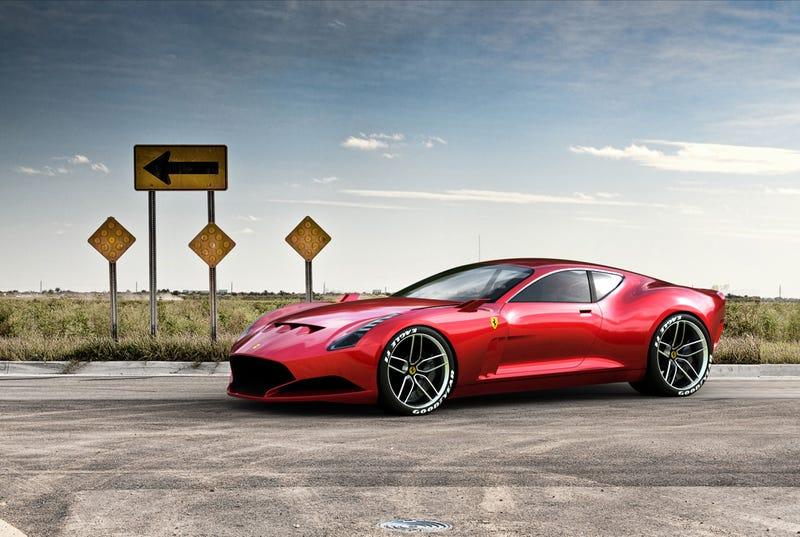 Show Us The Best Ferrari Concept