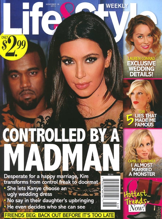 This Week in Tabloids: Kanye Has Crafted a Hell-Wedding for Kim