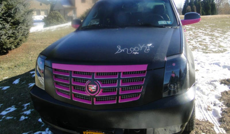 Snooki's Awful Cadillac Escalade Is For Sale And Can Be All Yours