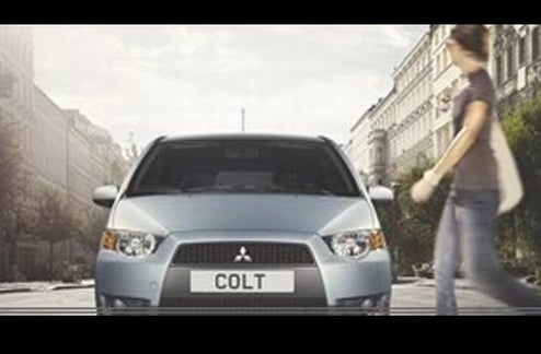 Mitsubishi Colt Is Mystery Machine Coming To Paris Motor Show