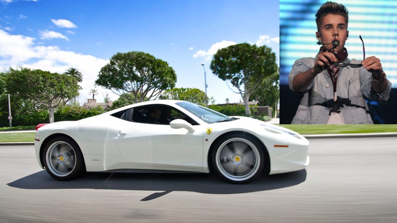 Photographer Reportedly Dies Trying To Shoot Justin Bieber's Ferrari