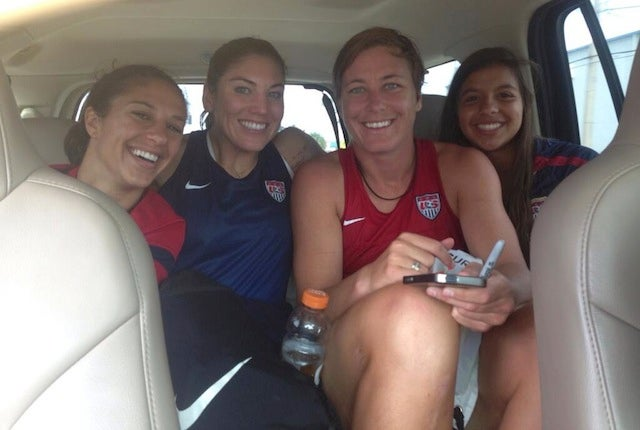 The USWNT's Bus Broke Down, So The Players Hitched A Ride With Fans