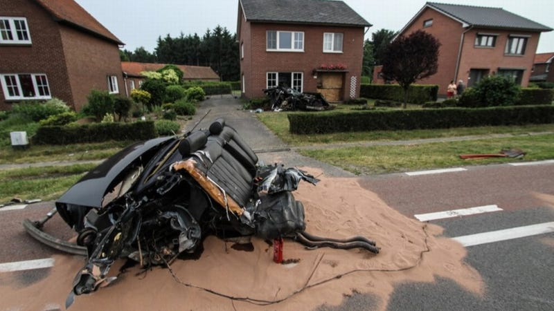 You Won't Believe Someone Walked Away From This Audi Crash