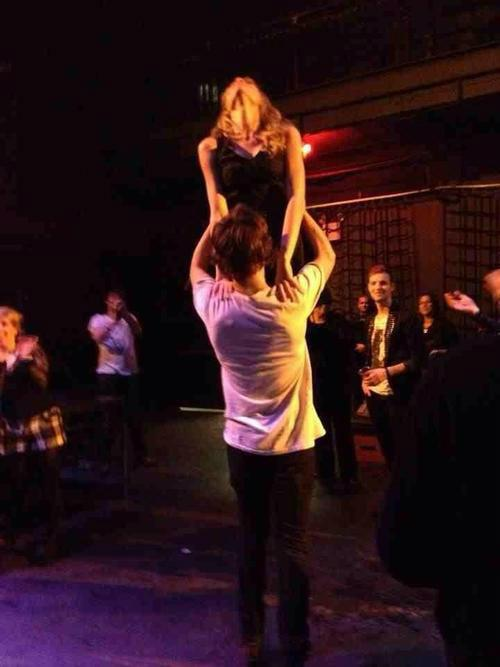Taylor Swift Recreated the 'Dirty Dancing Lift' with Harry Styles at a Party Because Her Life Is Written by Tweens