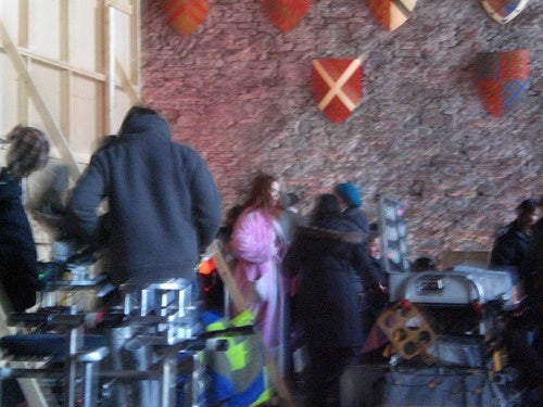 Doctor Who At Caerphilly Castle