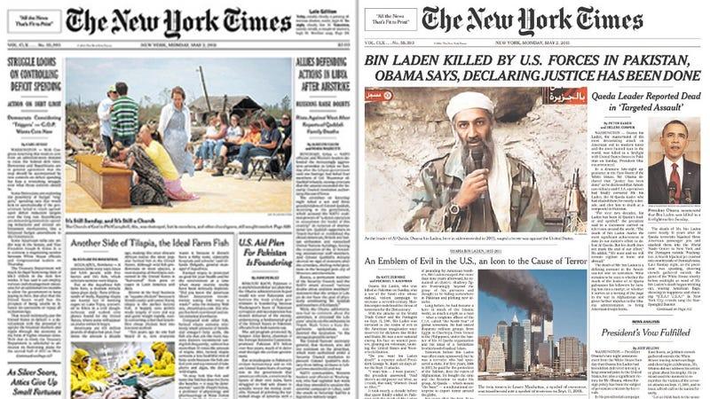 Top Stories: Monday, May 2, 2011