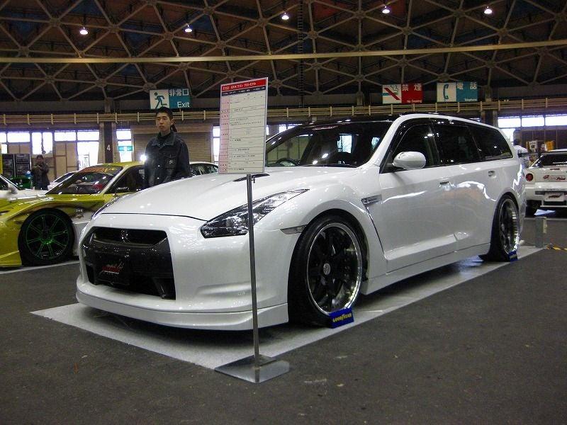 R35 + M35 = First Nissan GT-R Wagon!