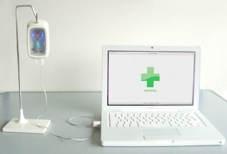 Concept Hard Drive Provides Intravenous Therapy for Peace of Mind