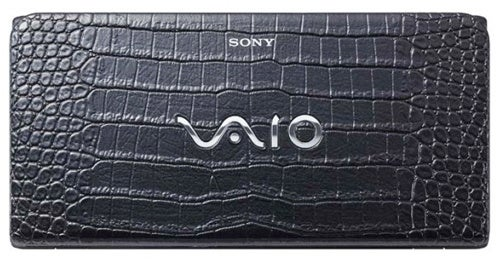 Yes, a Crocodile Skin Sony Vaio P Is Exactly What We Need