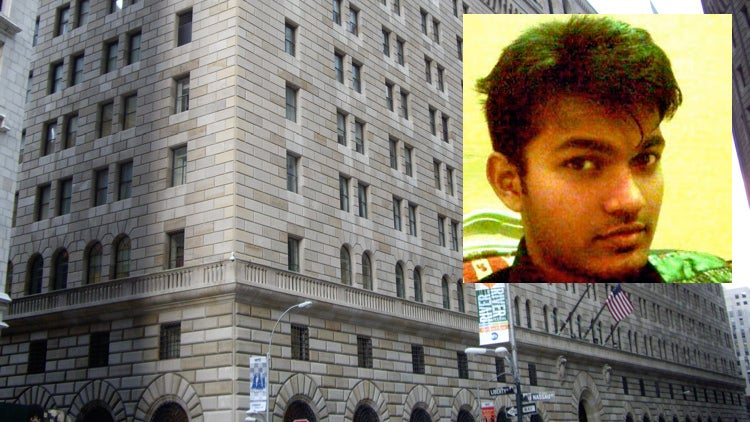 Terrorist Caught Trying to Blow Up the New York's Federal Reserve Bank