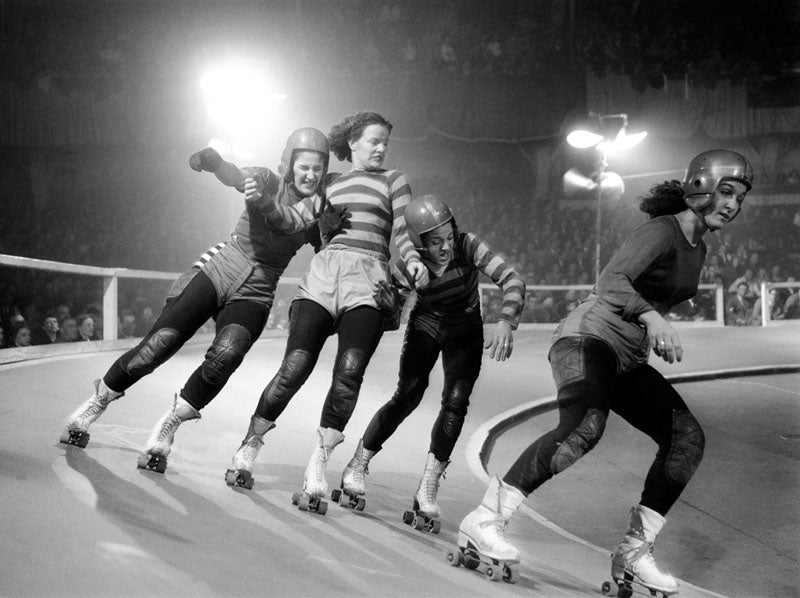 'Lady Skaters' And The Rough Pleasures Of Roller Derby