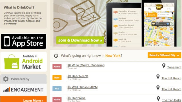 DrinkOwl Finds Happy Hours and Drink Specials Near You