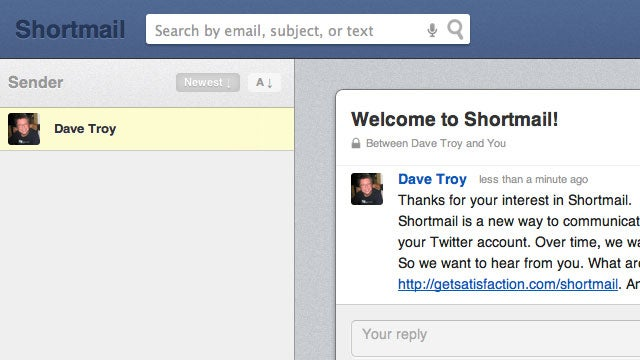 ShortMail Forces You to Write Shorter, Simpler Emails to Keep You Productive