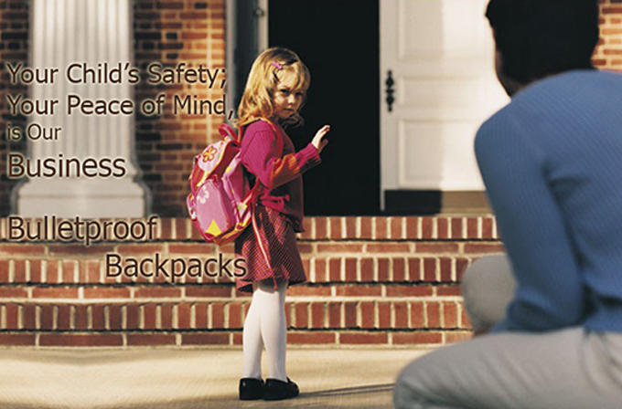Would You Send Your Child to School With Body Armor?