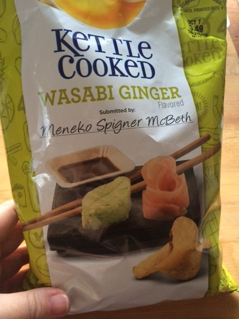 Lay's Wasabi Ginger Potato Chips: A review