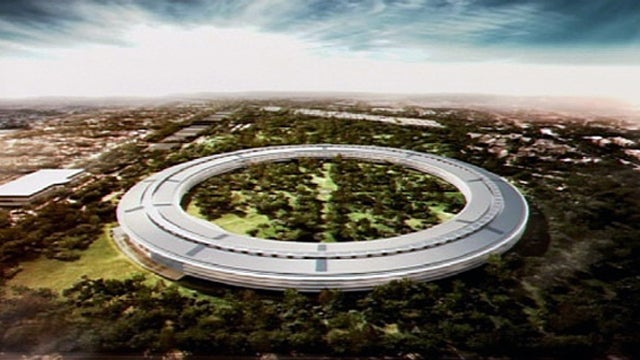 Jobs' Spaceship Apple Headquarters: A Dream 30 Years In the Making