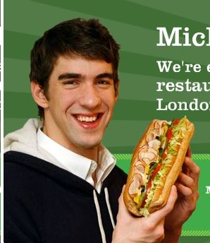 Subway Distancing Themselves from Michael Phelps, Too (Fools)
