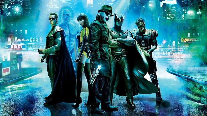 "Zack Snyder explains how he ""saved"" Watchmen from Terry Gilliam"