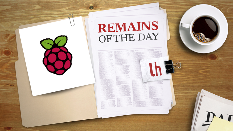 "Remains of the Day: Raspberry Pi Makes a Slimmed Down ""Model A"""