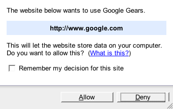 Access your Google Reader feeds offline with Google Gears