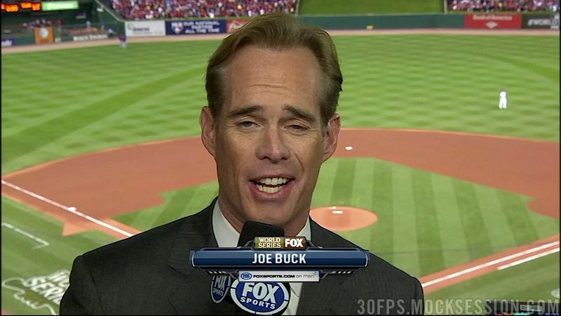 What We Learned From Joe Buck's Deadspin Chat