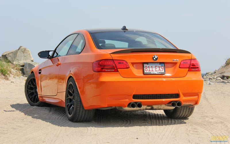 Lime Rock Park edition M3 visits the beach