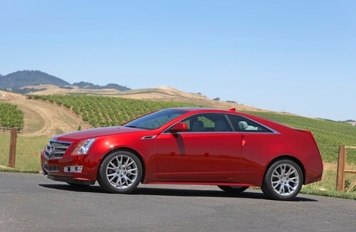 2011 Cadillac CTS Coupe: First Drive Gallery