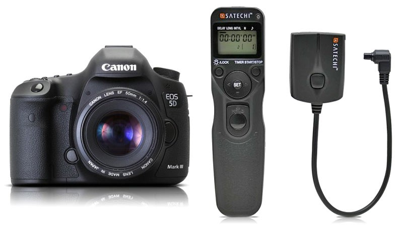 $60 Wireless Remote Controls Your 5D Mark III On the Cheap